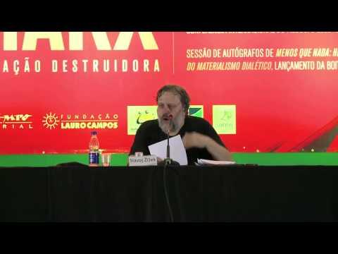 Conferência Slavoj Zizek - Brasília