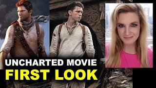 Uncharted Movie - Tom Holland as Nathan Drake FIRST LOOK