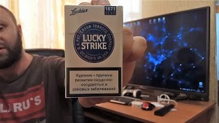 Обзор на Lucky Strike Premium Blue (Беларусь)