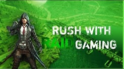 Pubg mobile live Lets Rush with RAIDGAMING  !raid for ur points #stayhome #staysafe