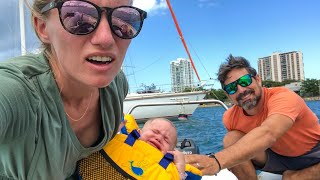 Sailing OFF THE GRID for 3 months-  How do we shop?  Sailing Vessel Delos Ep. 268