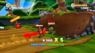 Unicycle Multiplayer - Joe Danger: The Movie Gameplay (Xbox 360)