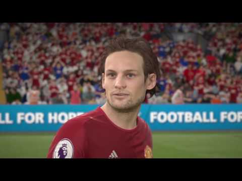 FIFA 17 MAN UNITED OFFICIAL PLAYER FACES HD