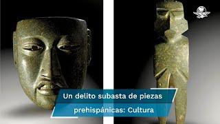 En la subasta organizada por Gerhard Hirsch Nachfolger, se pusieron a la venta 67 lotes con piezas prehispánicas que habrían sido elaboradas en el actual territorio mexicano, pero sólo se consumó la venta de 36 lotes