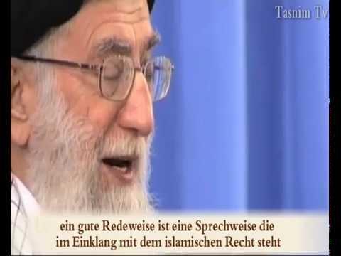 Imam Khamenei - Eine schöne Sprechweise