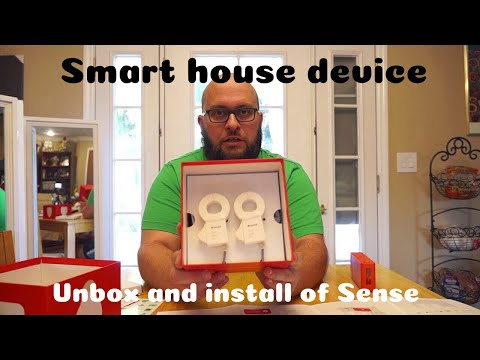 Unboxing and install of Sense