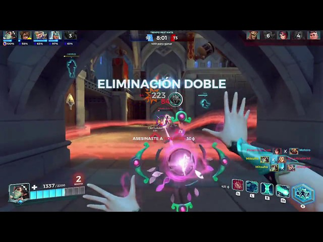 Ying, triple kill en matanza