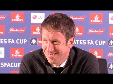 Swansea 2-3 Manchester City - Graham Potter Full Post Match Press Conference - FA Cup