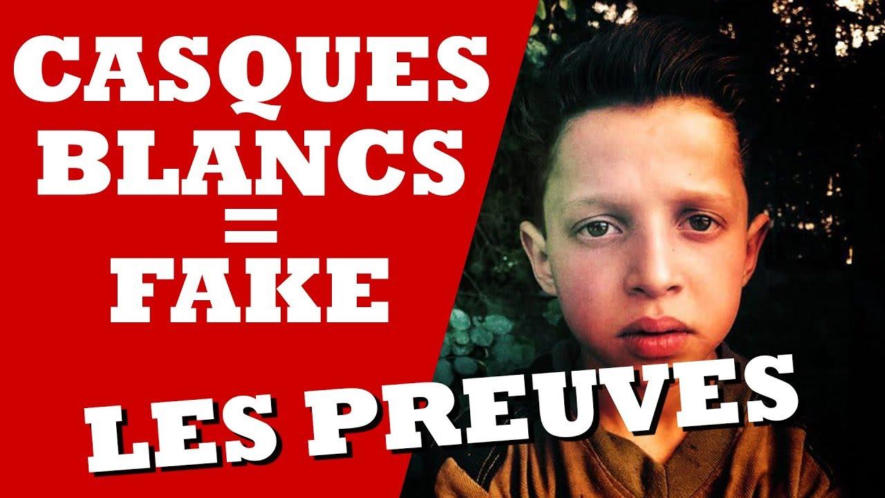 CASQUES BLANCS: MENSONGES ET PREUVES!!