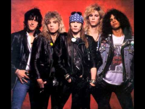 Top 10 Guns 'n' Roses Song