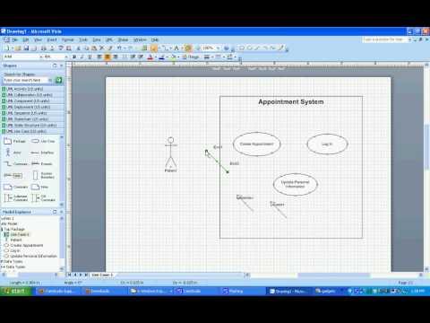 Microsoft Visio Use Case Diagram Include | Diagram