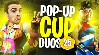 POP-UP CUP DUOS W/ DRLUPO!! I DIE A LOT!! | Fortnite Battle Royale Highlights #221