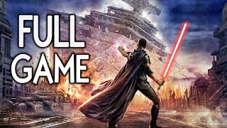 Star Wars The Force Unleashed - FULL GAME Walkthrough Gameplay No Commentary