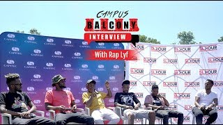 Rap Lyf Joins Slikour For The 'Campus Balcony Interview'