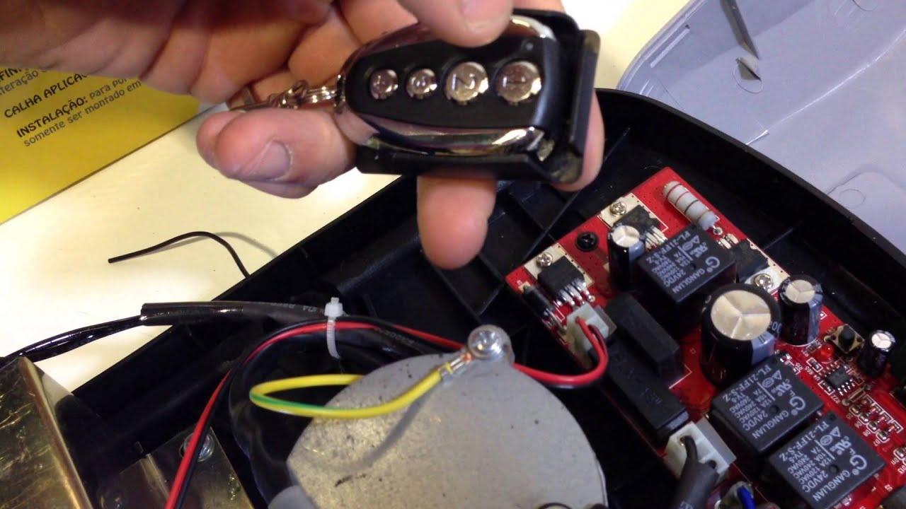 Como programar mando en motor puerta garaje ingini 600 for Mando puerta garaje