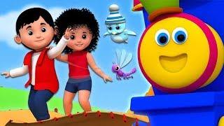 Rimas para niños   aprendiendo videos   Dibujos animados pa...
