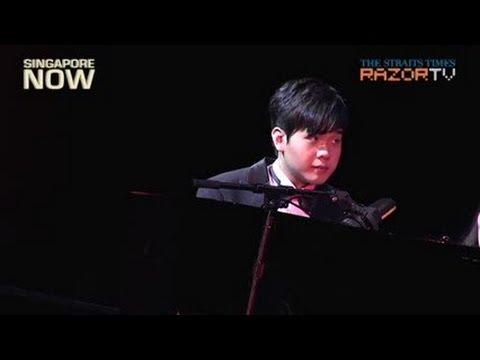 Autistic pianist takes flight at ChildAid 2012