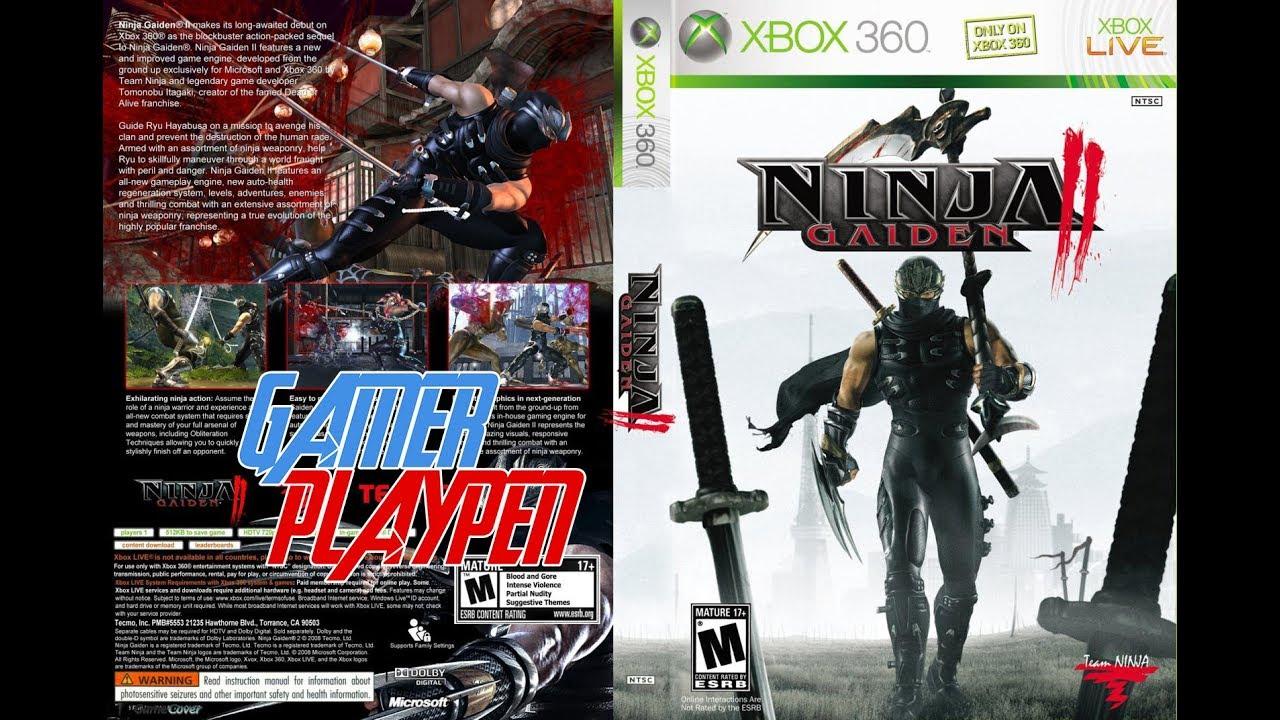 Ninja Gaiden 2 Xbox 360 Gamer Playpen Live Youtube