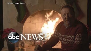 Kevin Spacey releases bizarre Christmas video message