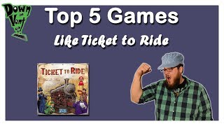 Top 5 Games Like Ticket to Ride