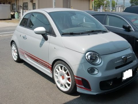 Fiat Abarth repair paint.SATA&Devilbiss&iwata.PPG(有)愛新車体.jpPresents