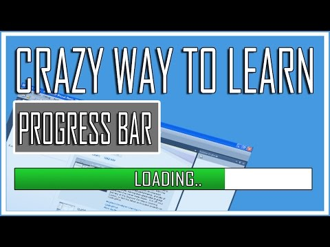 Visual Basic Beginners Lesson5 - Working with Progress Bar (Crazy Tutorial)