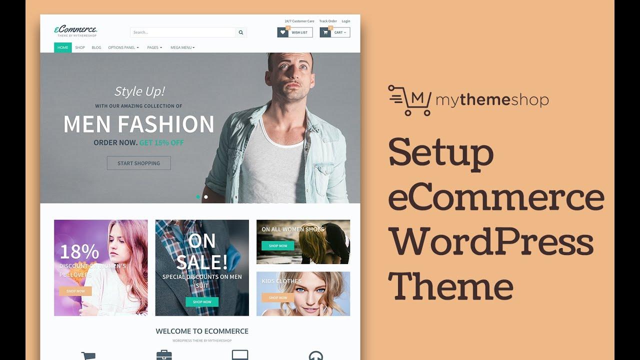 How to setup ecommerce wordpress theme hd youtube how to setup ecommerce wordpress theme hd maxwellsz