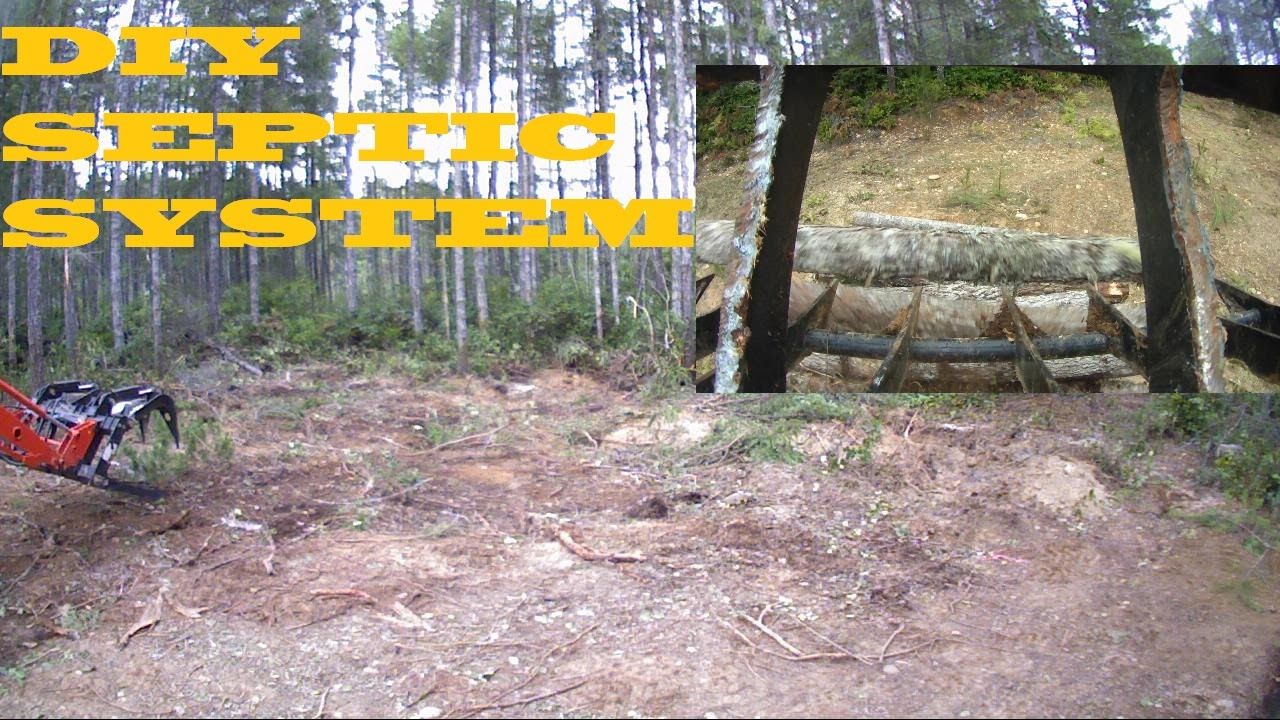 Diy Septic System Install Drain Field Video 2 Youtube