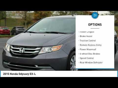 2015 Honda Odyssey LGL01769A