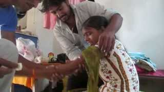 Repeat youtube video Puja Crying when getting injection