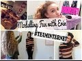 VLOG: Modelling Fun with Erin + #TEAMINTERNET !!