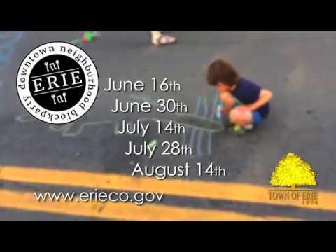 Town of Erie | 2017 Downtown Neighborhood Block Parties