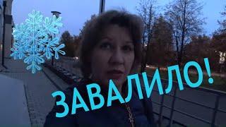 вЛОГ День домашних дел /ЗЕЛЕНЫЕ ЩИ НА ЗИМУ/Первый снегопад!
