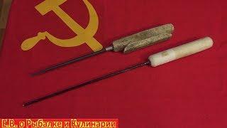 Самая популярная самодельная зимняя удочка в СССР Советская самодельная зимняя удочка из пенопласта