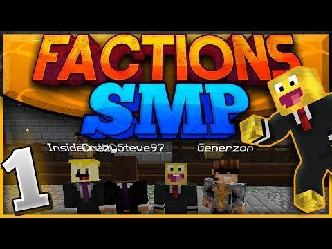 Minecraft Factions SMP - Episode #1 | The Beginning! (Minecraft Raiding SMP)