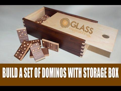 DIY Dominos | Glass Impressions