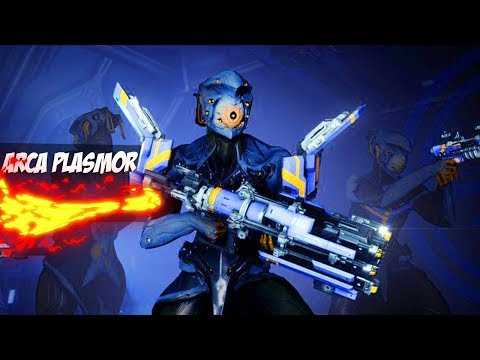 Warframe Arca Plasmor -Плазмо-дробовик-