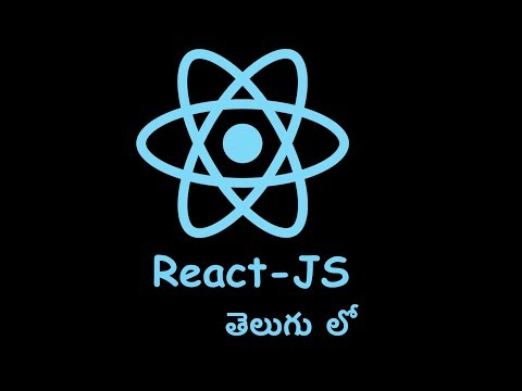03 React Js In Telugu app creation thumbnail