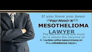 Mesothelioma Asbestos Lawyer   Legal Help   Attorney