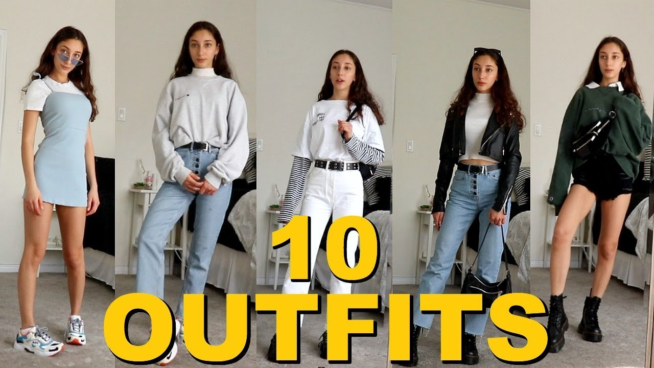 10 Outfits For When You Have Nothing To Wear