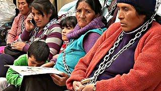 Прикованные к Министерству здравоохранения чилийцы протестуют против горной добычи (новости)