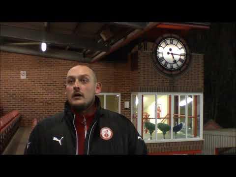 Ian Deakin: Post Match Interview v Lichfield City
