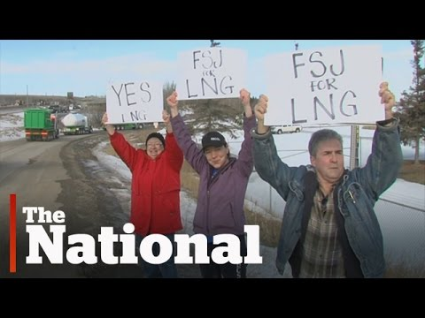 Pro-LNG truckers rally in northern B.C.