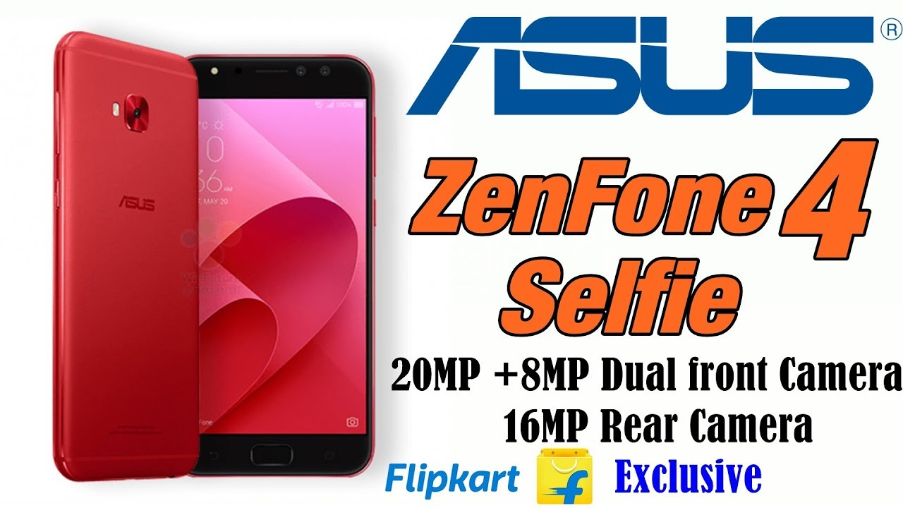 quality design 0b128 9f7ee Asus Zenfone 4 selfie with dual front camera launched in budget segment in  India