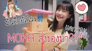 Grace zy|| อะไรเอ๋ย~อยู่ในกล่อง EP.3 MOKA ส่งของมา???!!! 😱😱