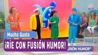 Fusión Humor se tomó el matinal - Mucho gusto 2018