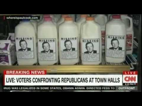 Voters confronting Republicans for not holding Town Hall meetings