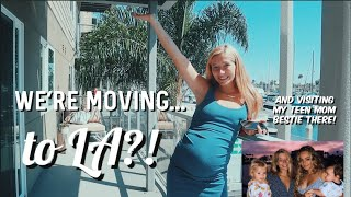 Announcing a huge change in our lives // TEEN MOM OF 2 TRAVEL VLOGS