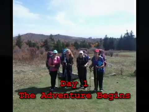 """Buckeye Day Trippers"" 4days/3nights/40 miles on the Appalachian Trail Damascus VA"