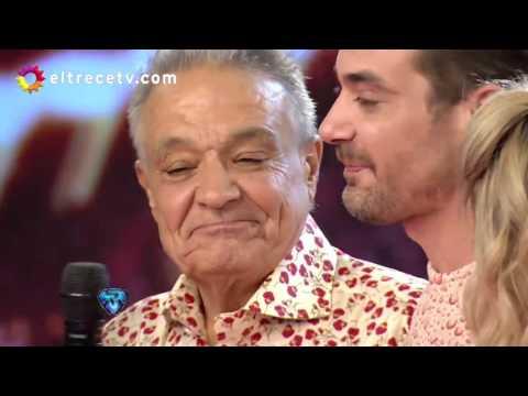 Pedro Alfonso bailó Merengue con su papá y se quebró al recordar a su madre